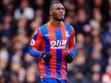 Christian Benteke in action for Crystal Palace on February 4, 2018