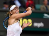 Maria Sharapova in action in July 2015