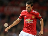 Matteo Darmian in action for Manchester United in September 2017