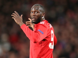 Team News: Lukaku, Martial on bench for Man Utd