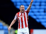 Charlie Adam in action for Stoke City on January 8, 2018