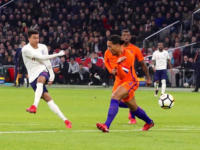Result: Lingard fires England past Netherlands