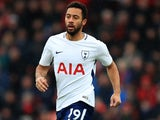 Mousa Dembele in action for Spurs on March 11, 2018