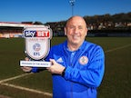 Accrington Stanley boss John Coleman named March League Two Manager of the Month