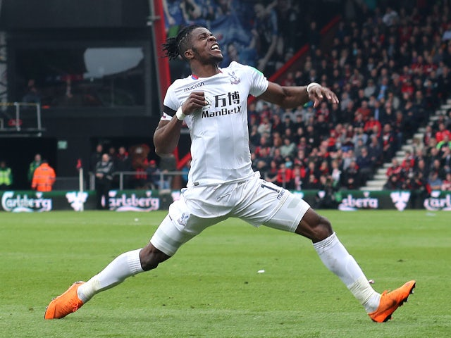 Wilfried Zaha named Player of the Month