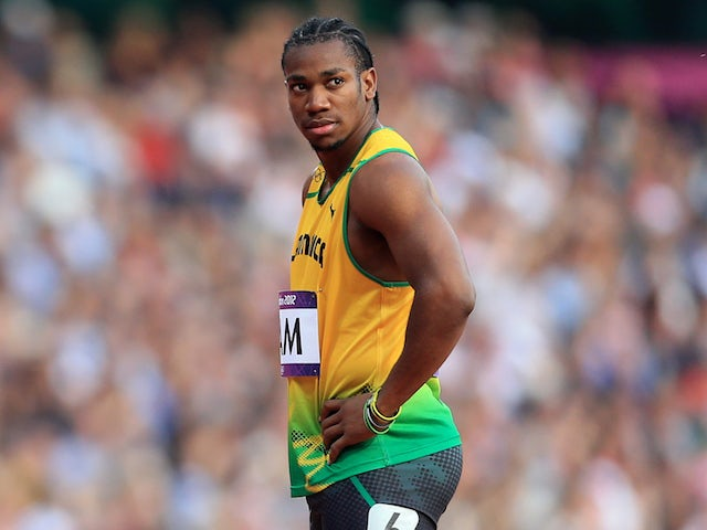 Simbine upsets Blake to win 100 metres gold