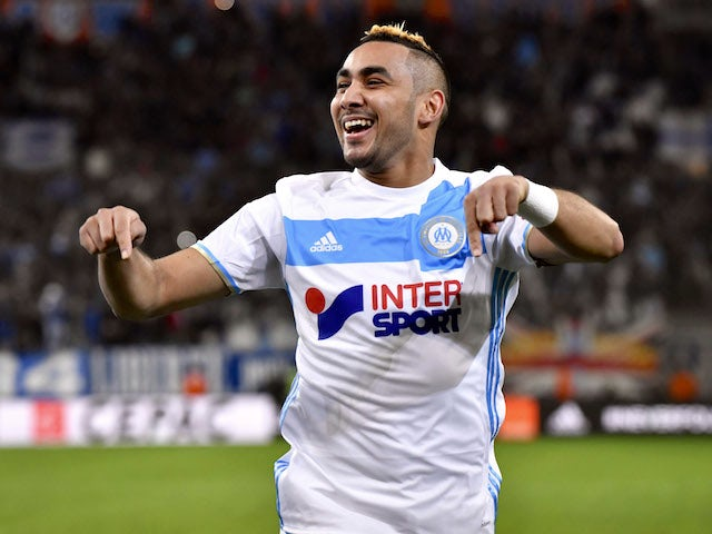 Dimitri Payet playing for Marseille in the 2016-17 season