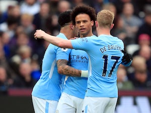 Result: Man City hit four to coast past West Ham