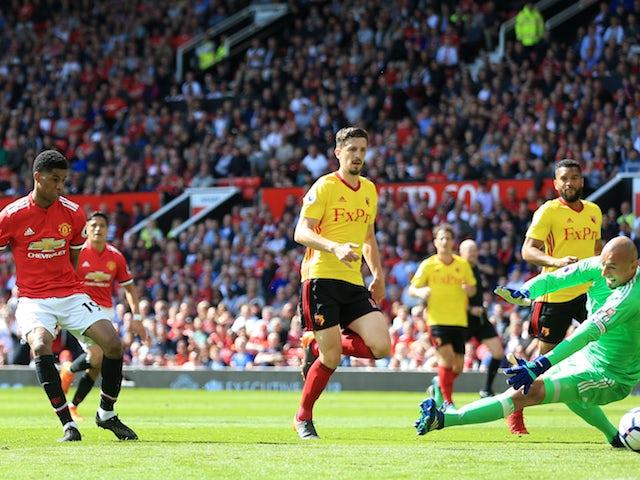Result: Rashford nets as Man United beat Watford
