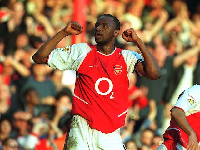 Patrick Vieira for Arsenal