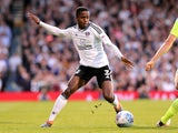 Ryan Sessegnon in action during the Championship playoff semi-final between Fulham and Derby County on May 14, 2018
