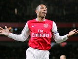Thierry Henry for Arsenal