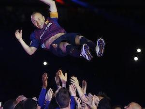 Vissel Kobe 'to unveil Andres Iniesta'