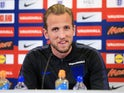 England captain Harry Kane in a press conference on May 22, 2018
