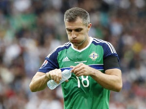 "Aaron Hughes ""a little bit emotional"" in final game as player"