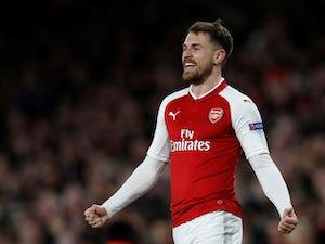 Team News: Aaron Ramsey returns to Arsenal XI