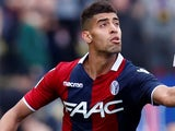 Adam Masina in action for Bologna on March 31, 2018