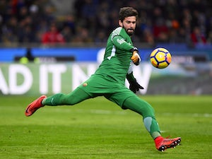 Liverpool 'make £58m Alisson Becker bid'