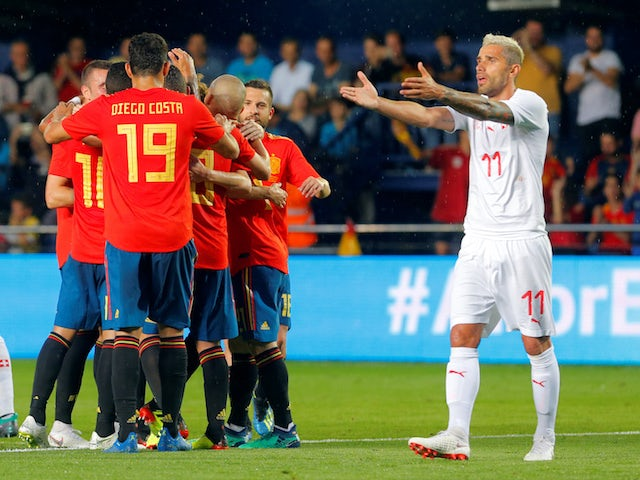 Result: Spain held by Switzerland in Villarreal