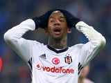 Anderson Talisca in action for Besiktas on February 20, 2018