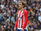 Antoine Griezmann in action for Atletico Madrid on April 8, 2018