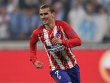Atletico Madrid forward Antoine Griezmann in action during the 2018 Europa League final on May 16, 2018