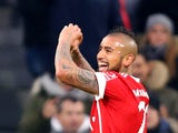 Arturo Vidal in action for Bayern Munich on December 2, 2017