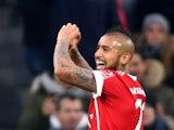 Arturo Vidal in action for Bayern Munich on December 2, 2017