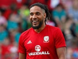 Ashley Williams during a Wales training session on May 21, 2018