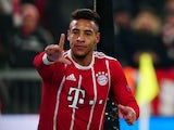 Corentin Tolisso in action for Bayern Munich in December 2017