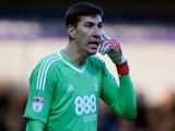 Costel Pantilimon in action for Nottingham Forest on February 17, 2018