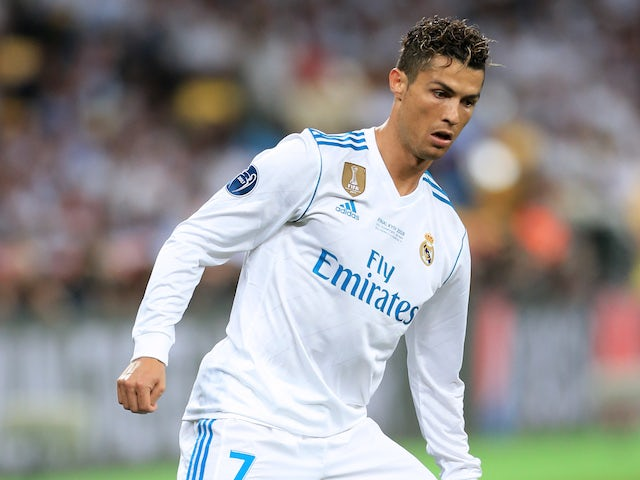 the latest 5336c 24ebd Cristiano Ronaldo absent from Real Madrid kit launch ...