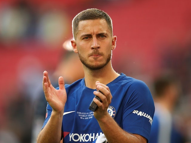 Hazard 'agrees personal terms with Madrid'