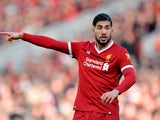Emre Can in action for Liverpool on February 24, 2018
