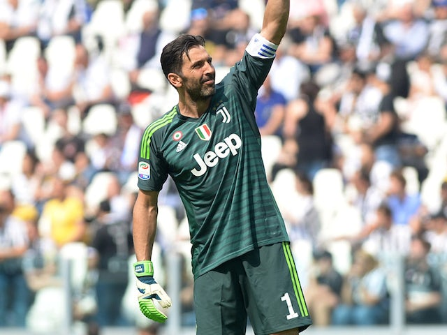 Buffon 'not surprised' by Ronaldo, Juve talk
