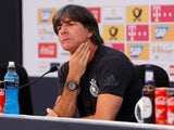 Joachim Low at a Germany press conference on May 24, 2018