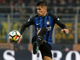 Joao Cancelo in action for Inter Milan on March 11, 2018
