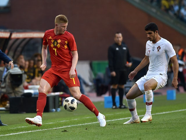 De Bruyne: 'Belgium can cope without Kompany'
