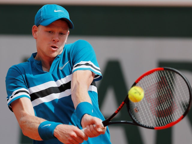 Result: Edmund through to Cincinnati second round