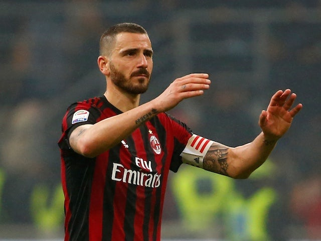 Juventus confirm Bonucci return