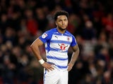 Liam Moore in action for Reading on February 10, 2018