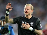 Loris Karius in tears after the Champions League final between Real Madrid and Liverpool on May 26, 2018