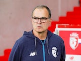 Marcelo Bielsa in charge of Lille on September 22, 2017