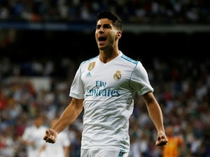 Marco Asensio in action for Real Madrid on August 28, 2018
