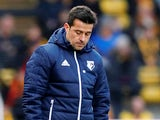 Marco Silva in charge of Watford on January 13, 2018