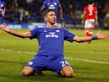 Marko Grujic in action for Cardiff City on March 6, 2018