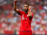 Mehdi Benatia playing for Bayern Munich in 2015