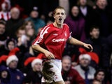 Michael Dawson in action for Nottingham Forest on December 28, 2004