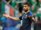 France and Lyon forward Nabil Fekir in action during an international friendly with the Republic of Ireland on May 28, 2018