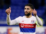 Lyon forward Nabil Fekir in action during his side's Europa League clash against Apollon Limassol on November 23, 2017